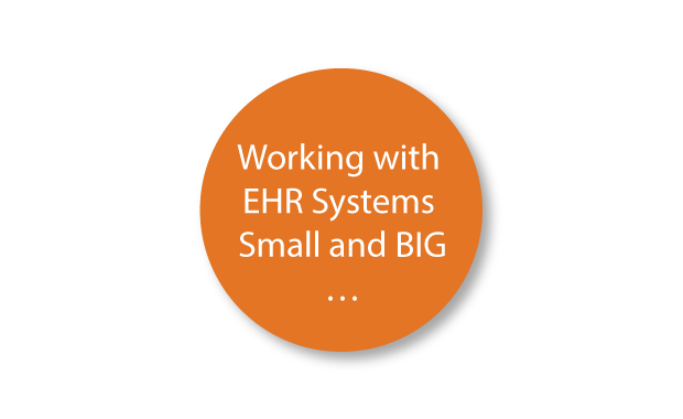 Working With EHR Systems Small and BIG